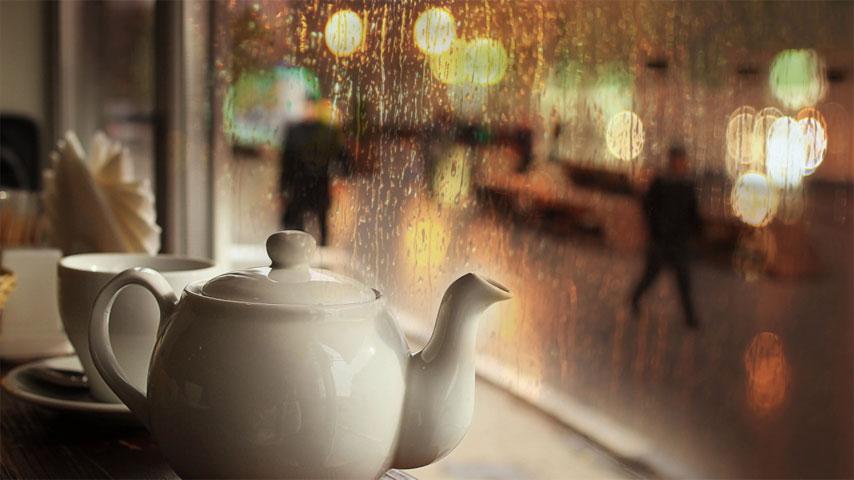 روزهای بارانی تهران با کافه های زیبا در تخفیفان