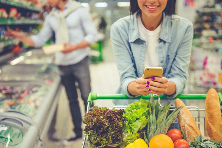 خرید محصولات غذایی و آرایشی از اُکالا