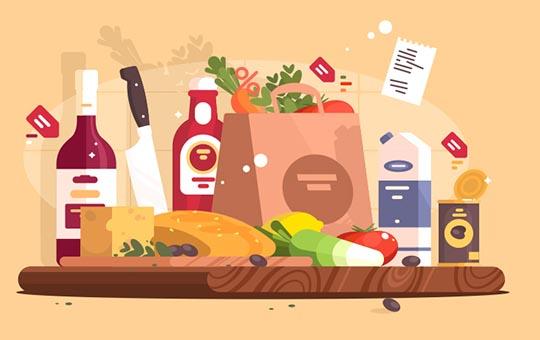 اولین خرید از سوپر مارکت