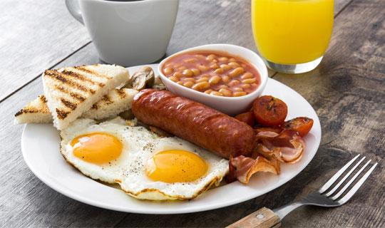 صبحانه لذیذ با نت برگ