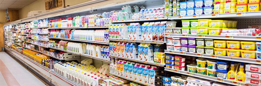 خرید لبنیات در اسنپ فود