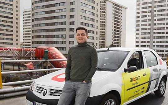 اولین سفارش تاکسی اینترنتی