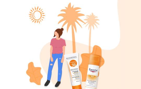 فروش انواع کرم ضد آفتاب